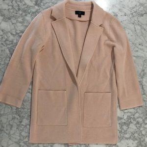 J. Crew Sophie Knit Blazer Sweater Pink XXS